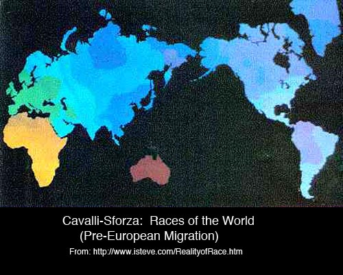 Races Of The World Map.World Maps Races Of The World